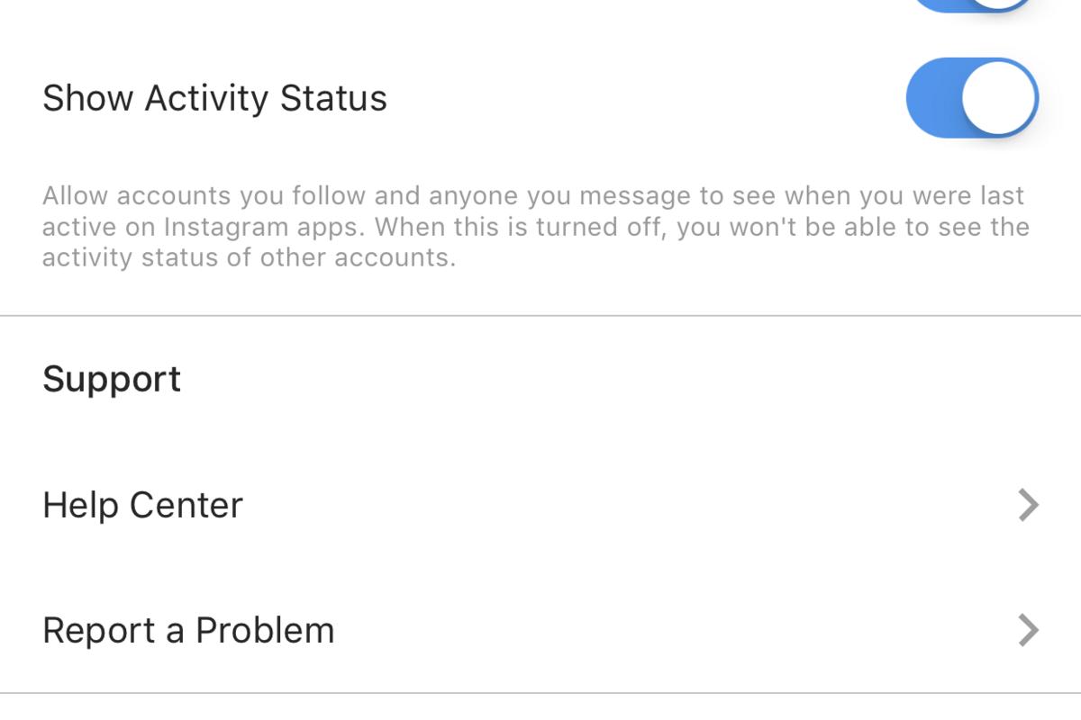 "alt=""Instagram Active Status Settings"""