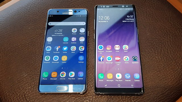 "alt=""Galaxy Note FE vs Note 8"""