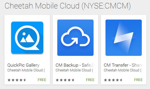 QuickPic เปลี่ยนเจ้าของเป็น Cheetah Mobile เจ้าของเดียวกับ Clean