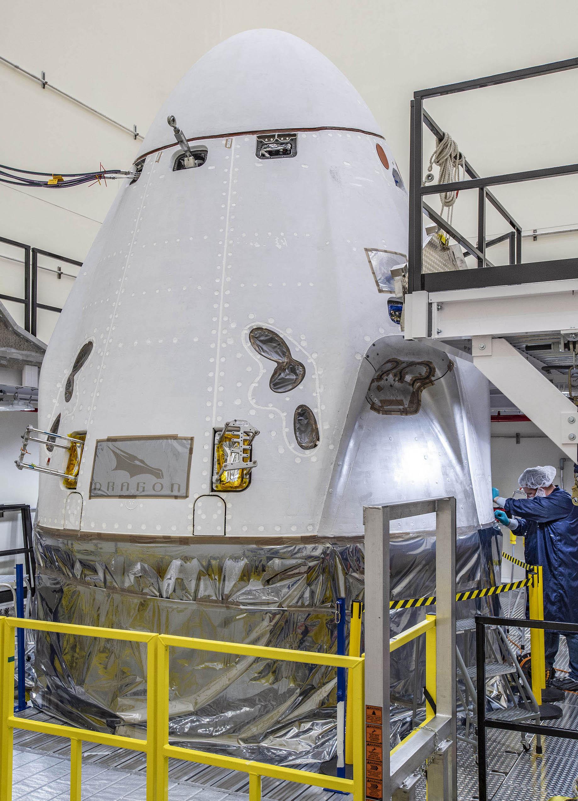 "alt=""The SpaceX Crew Dragon"""