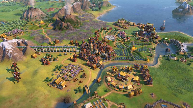 "alt=""Dam district in Civilization VI Gathering Storm"""