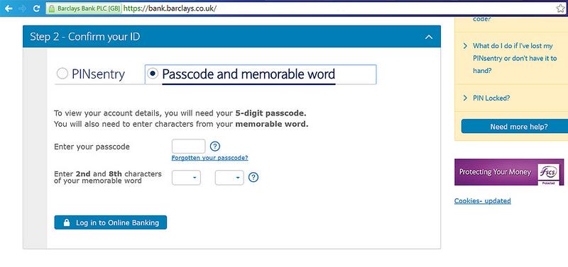ทดลองใช้บริการ Barclays Online Banking ในอังกฤษ | Blognone