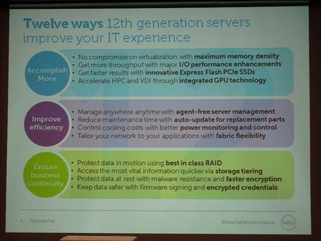 Dell ประเทศไทยเปิดตัวเซิร์ฟเวอร์ PowerEdge 12G | Blognone