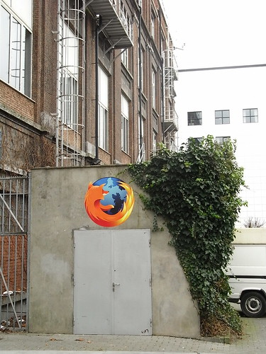 """alt=""""Firefox Spotted on ULB Campus"""""""