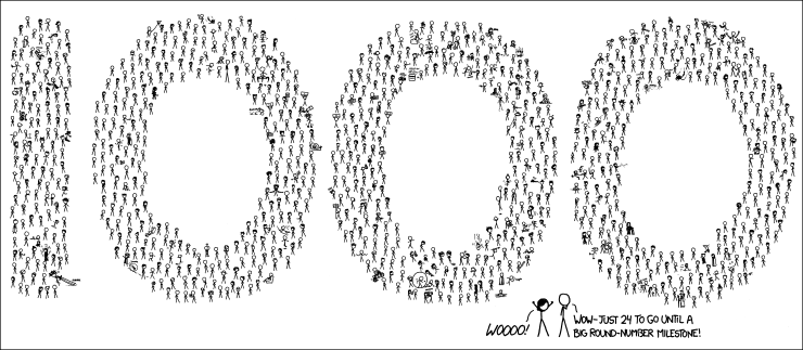 "alt=""xkcd 1000th"""