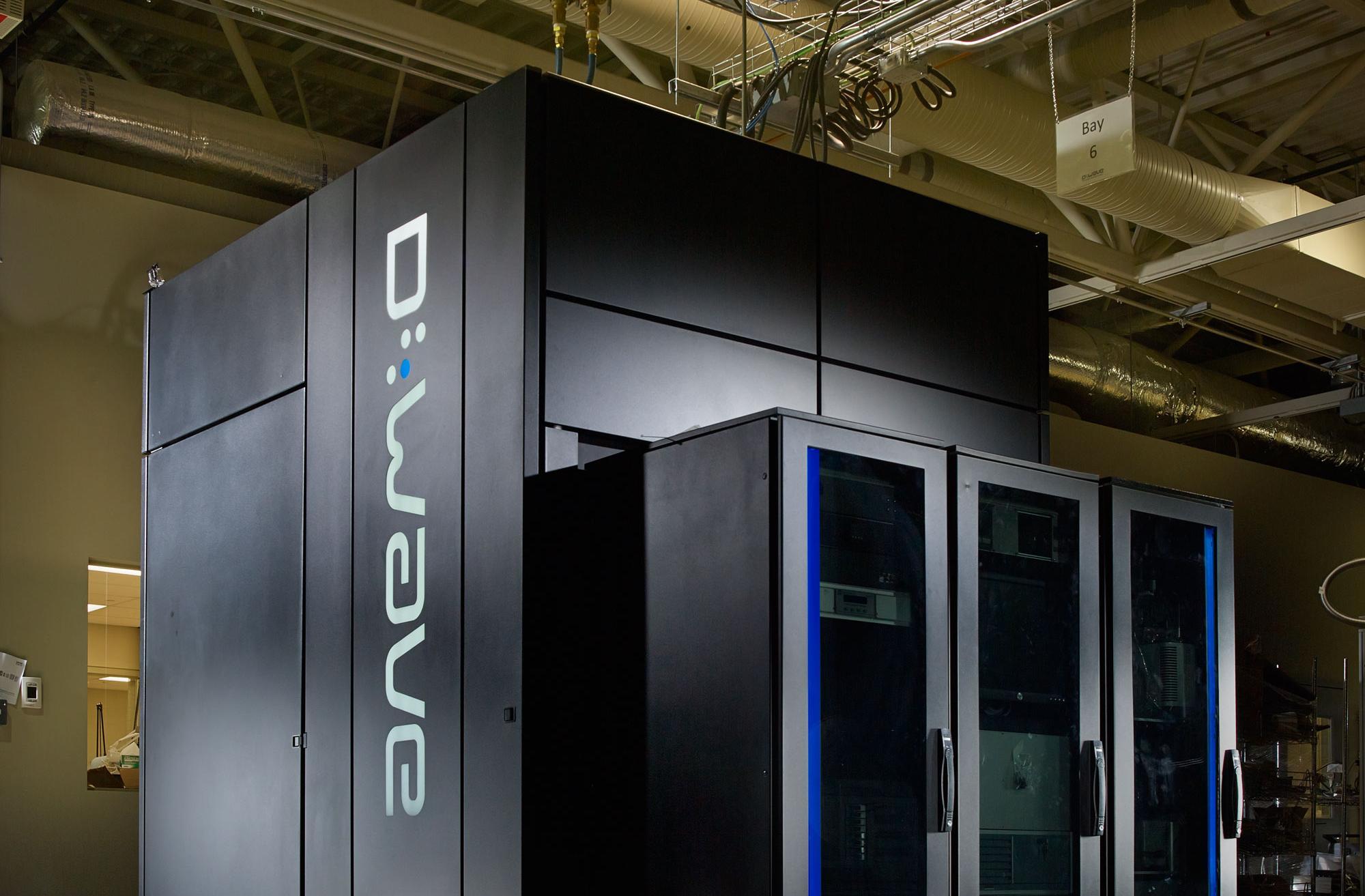 """alt=""""D-Wave quantum computer"""""""