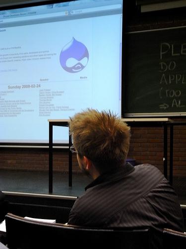 """alt=""""Drupal Track @ FOSDEM 2008"""""""