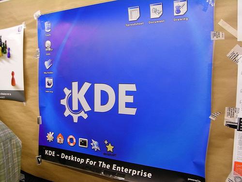 """alt=""""KDE @ FOSDEM"""""""