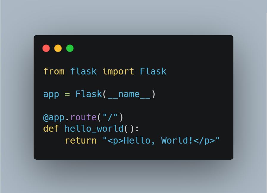 Flask ออกรุ่น 2.0 ต้องการ Python 3.6 ขึ้นไปเท่านั้น