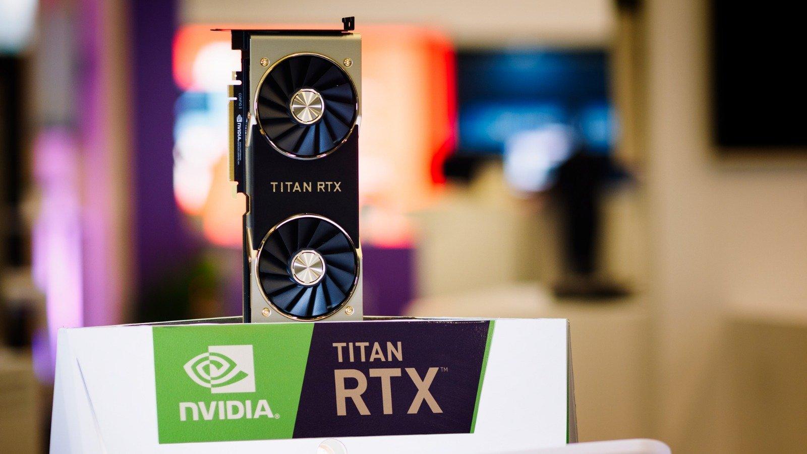 NVIDIA เปิดตัว Titan RTX การ์ดจอแรงที่สุดในโลก แรม 24GB ราคา