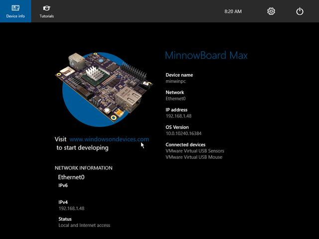 "alt=""Windows 10 IoT Core RTM"""