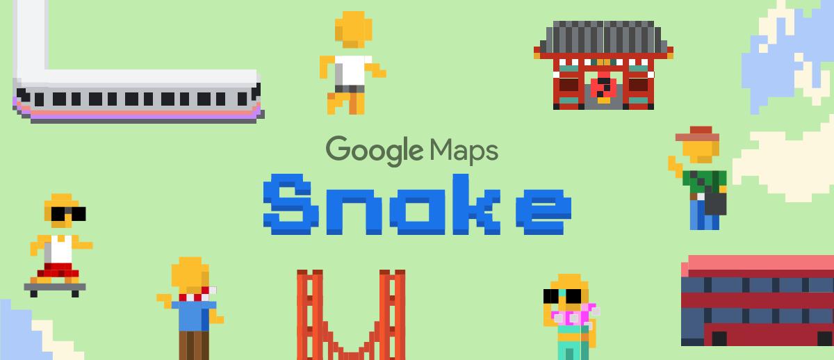 "alt=""Google Maps Snake"""