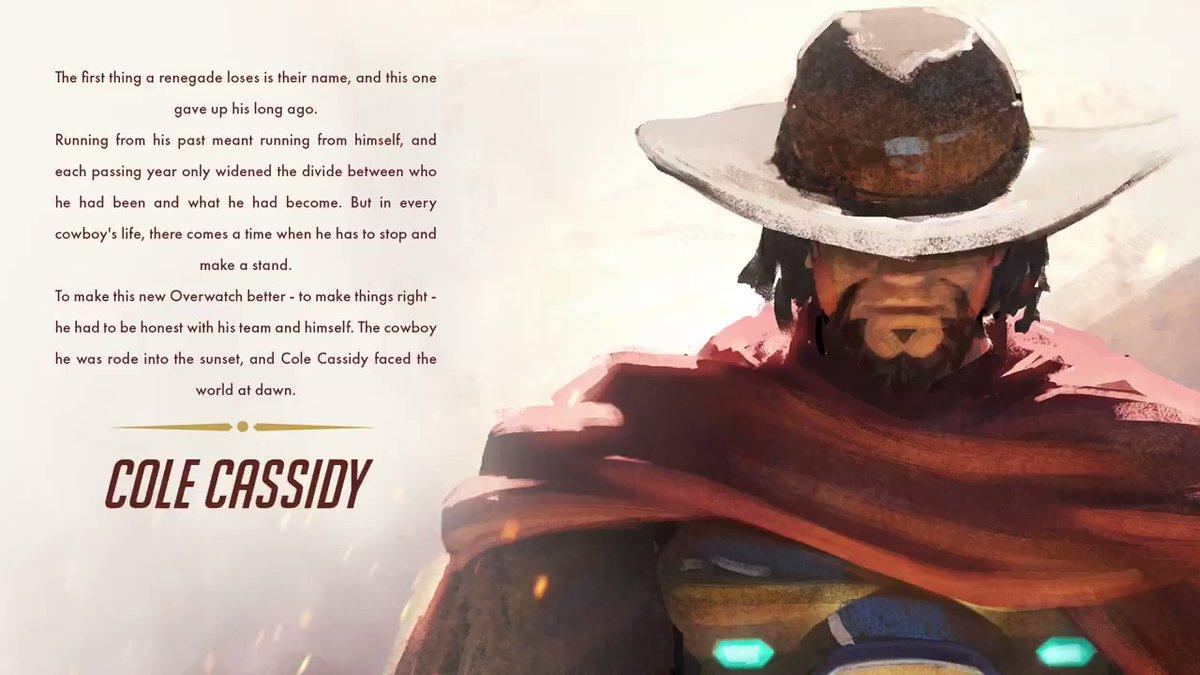 Overwatch เปลี่ยนชื่อคาวบอย McCree เป็นชื่อใหม่ Cole Cassidy หลังปัญหาภายใน Blizzard