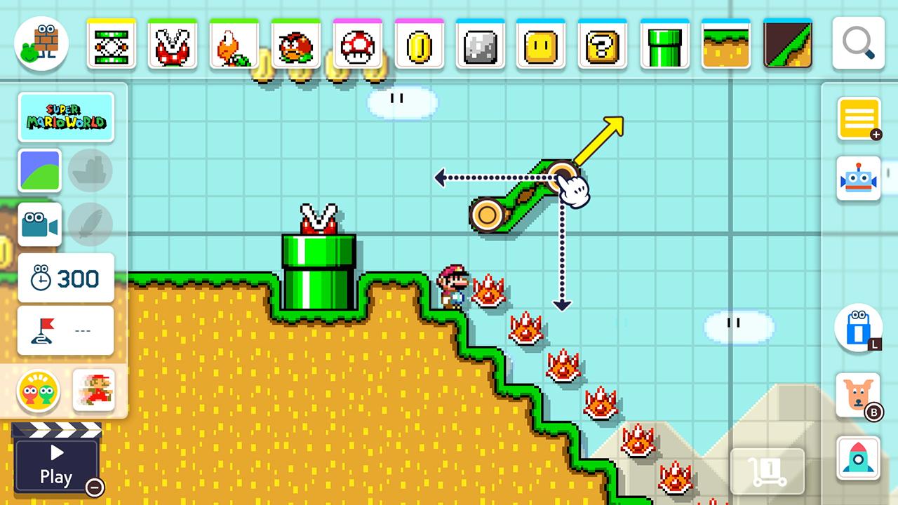 สร้างฉากเองเล่นเอง Super Mario Maker 2 ลง Switch เดือนมิถุนายน 2019 | Blognone