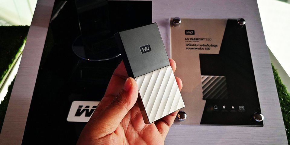 WD เปิดตัว SSD แบบพกพา 3 รุ่น รองรับ USB-C, กันน้ำกันฝุ่นและกัน