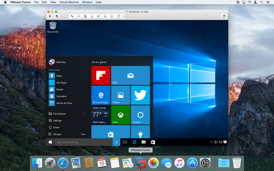 vmware fusion 10 review