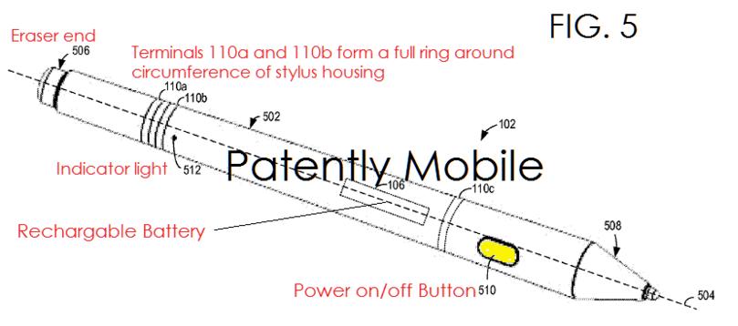 เผยสิทธิบัตรใหม่ ปากกาของ Surface Pro 5 อาจชาร์จไร้สายจากการแปะข้างเครื่อง