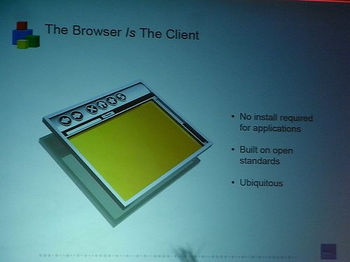 "alt=""The Browser is the Client"""