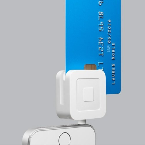 "alt=""EMV card reader for phone in use"""