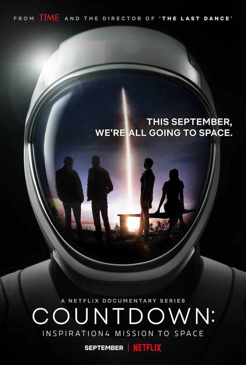 Netflix ประกาศทำสารคดีภารกิจ Inspiration4 ของ SpaceX ไปพร้อมๆ กับภารกิจ