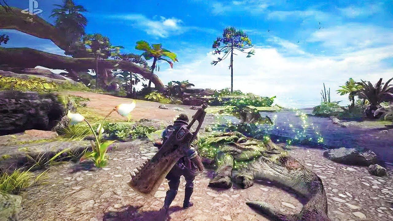 รายละเอียด Monster Hunter World เดิมชื่อ Monster Hunter 5, ไม่ลง Switch | Blognone