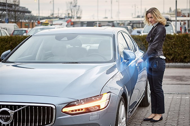 """alt=""""Volvo Cars digital key"""""""