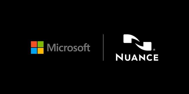 "alt=""Microsoft x Nuance"""