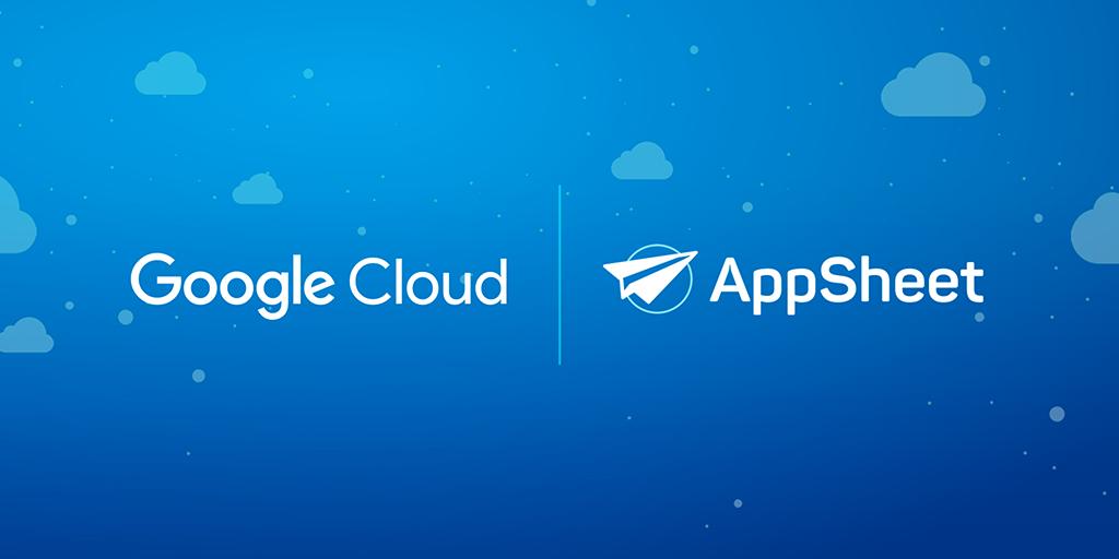 """alt=""""Google Cloud x AppSheet"""""""