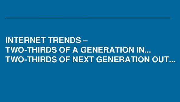 สรุปแนวโน้มที่น่าสนใจของวงการไอที จาก KPCB Internet Trends 2015