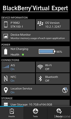 """alt=""""Information, BlackBerry Virtual Expert Screen"""""""