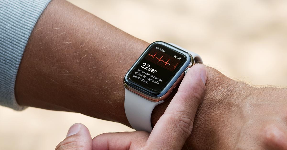 "alt=""Apple Watch with ECG"""