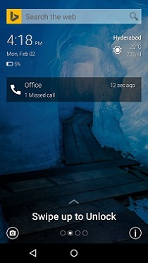 Picturesque Lock Screen Android