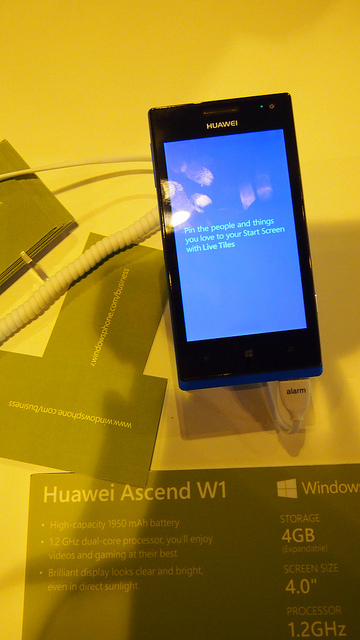 "alt=""Huawei Ascend W1"""