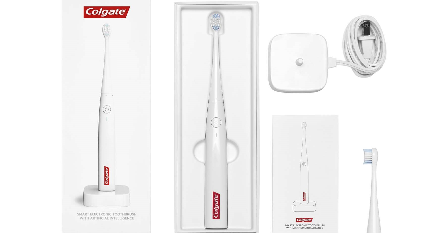 "alt=""Colgate Smart Electronic Toothbrush E1 with Artificial Intelligence"""