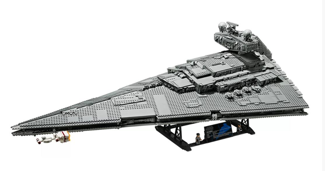 "alt=""Lego's Imperial Star Destroyer"""