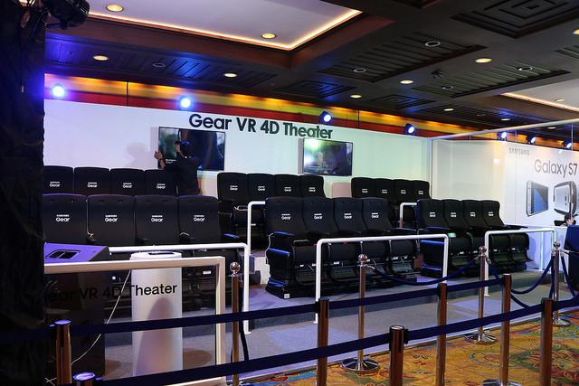 พาไปเล่น Gear VR 4D Theater ที่งาน Thailand Mobile Expo
