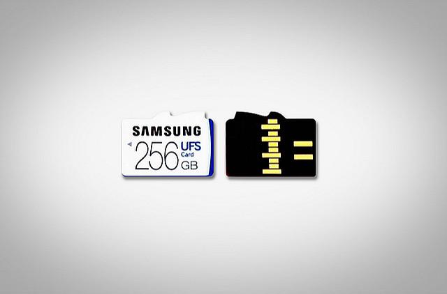 "alt=""삼성전자, 세계 최초 '256GB UFS 카드' 공개"""
