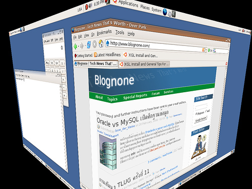 "alt=""blognone on xgl"""