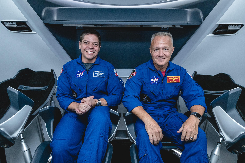 "alt="" NASA Astronauts Bob Behnken and Doug Hurley"""