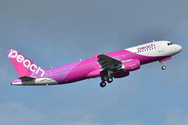 "alt=""Airbus A320-200 Peach (APJ) JA809P - MSN 5640 (9322789412)"""
