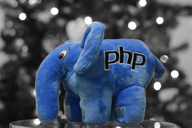 """alt=""""The blue PHP Elephant"""""""