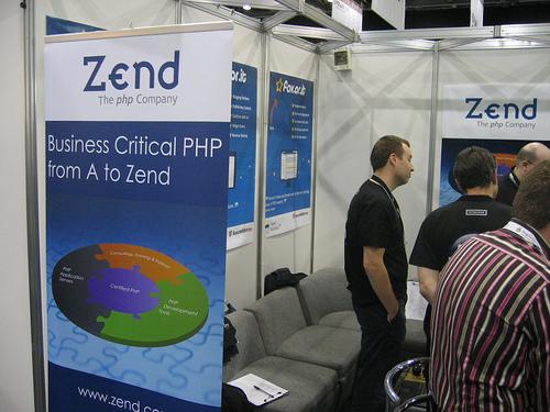 "alt=""Zend Booth at FOWA"""