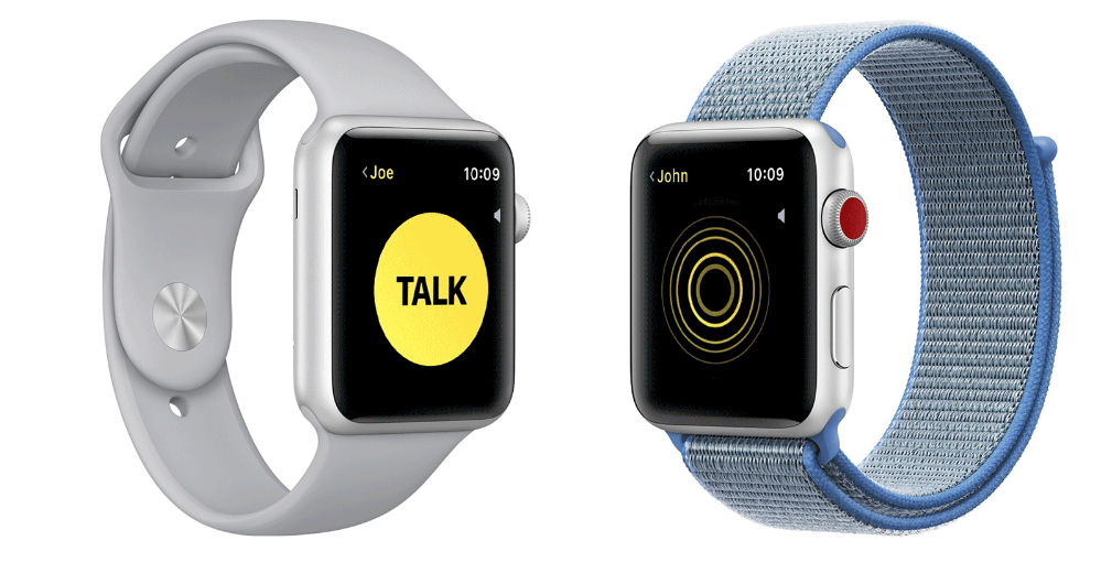 "alt=""Walkie Talkie on Apple Watch"""