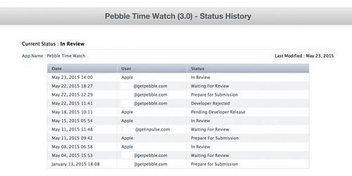 "alt=""Pebble Time iPhone App Status History"""