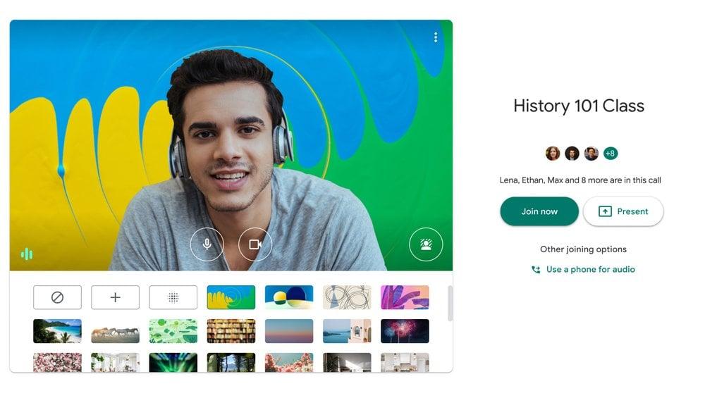 Google Meet บน G Suite เวอร์ชั่นแอป iOS, Android รองรับการตัดเสียงรบกวนรอบข้าง  | techfeedthai