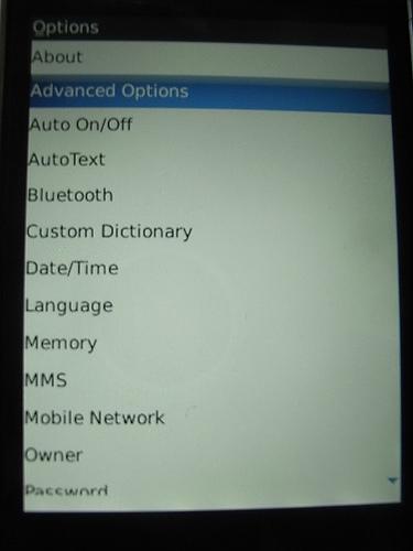 "alt=""BlackBerry Storm - Options"""