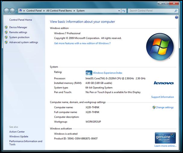 Review – Lenovo ThinkPad X220   Blognone
