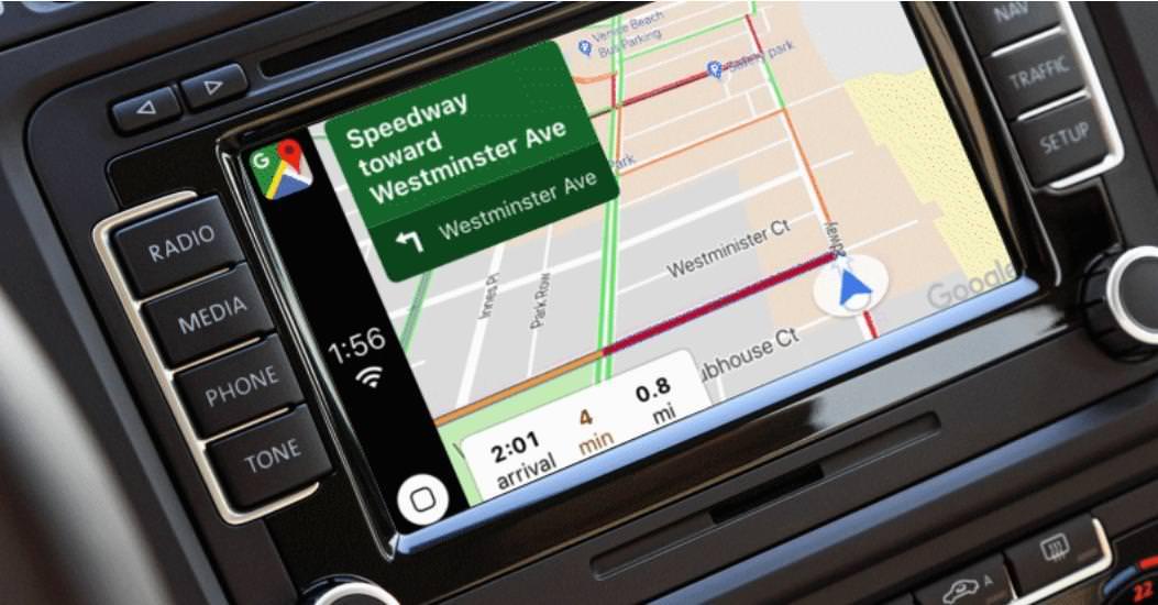 "alt=""CarPlay and Google Maps"""