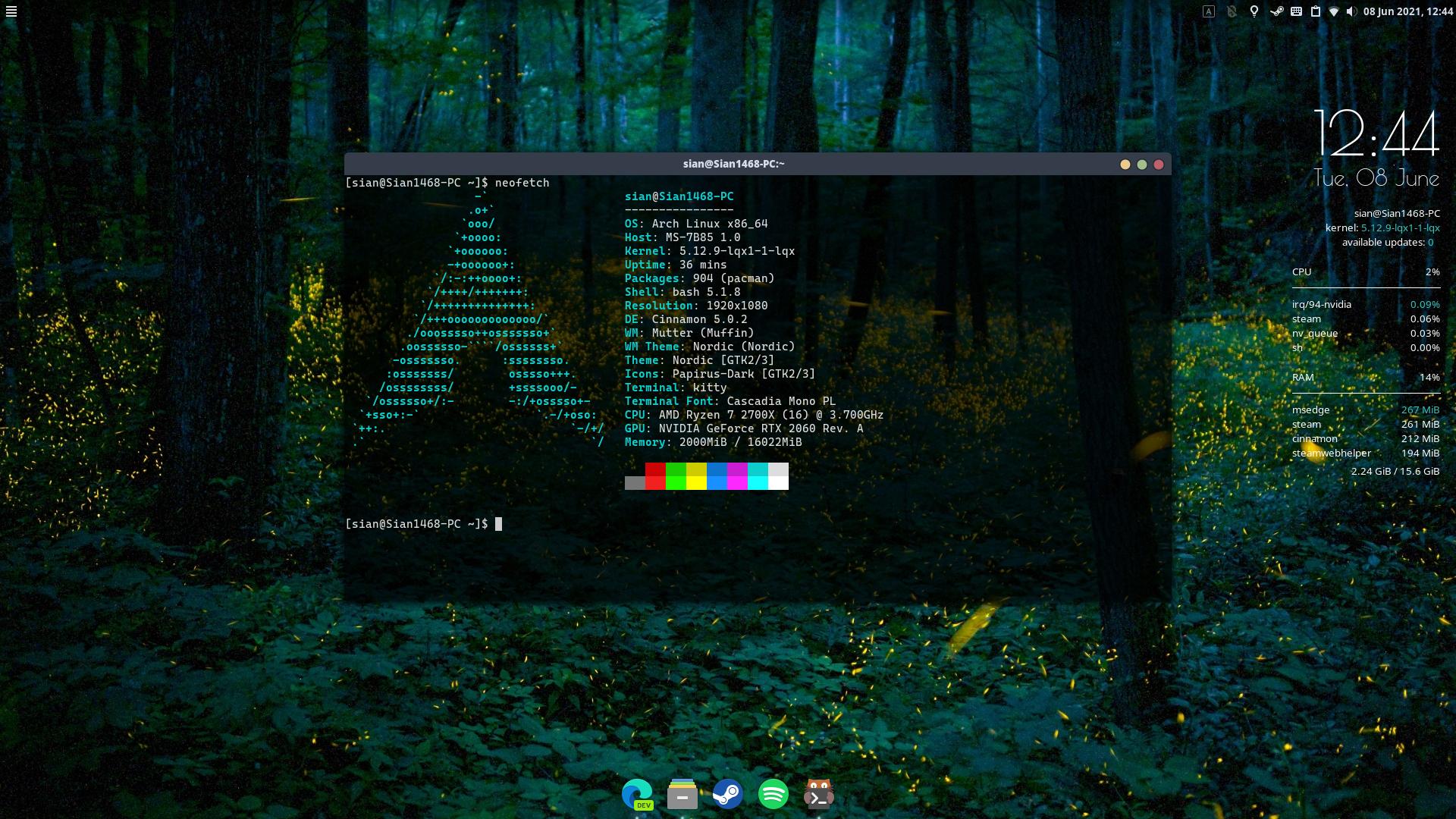 """alt=""""Arch Linux Screenshort"""""""