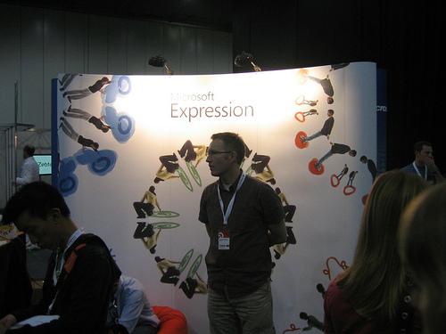 """alt=""""Microsoft Expression Booth @ FOWA"""""""